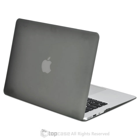 "Rubberized Grey Hard Case Cover for Macbook Air 11"" A1370/A1465"
