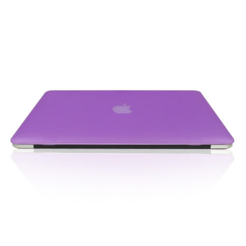 "Purple Rubberized Hard Case for Macbook Pro 15"" A1398 with Retina display"