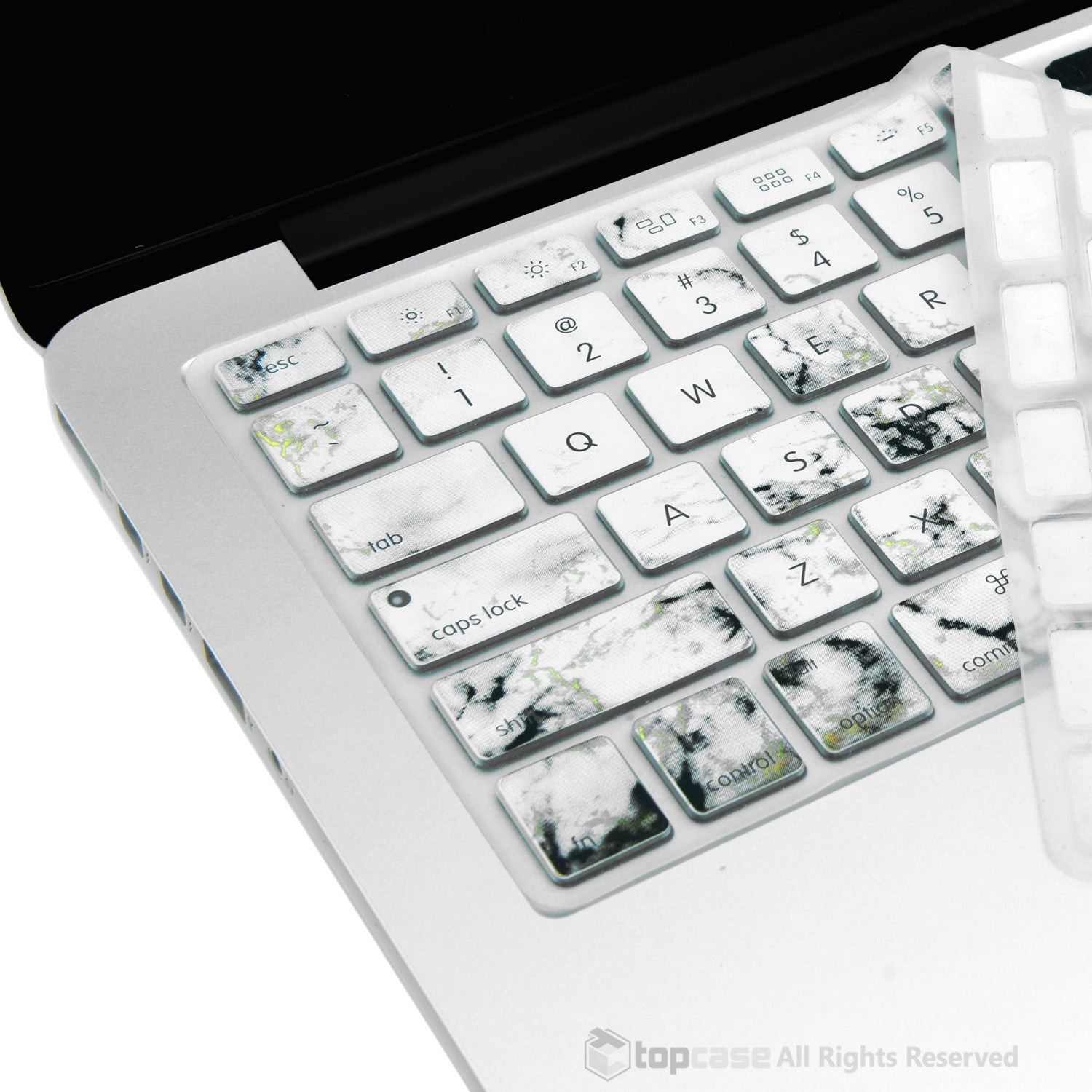 Book Cover Layout Keyboard : Marble pattern ultra thin soft silicone keyboard cover for