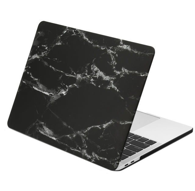 Marble Pattern Graphic Rubberized Hard Case Cover for MacBook Pro 15-inch A1707/A1990 with Touch Bar( Release 2016/17/18 )