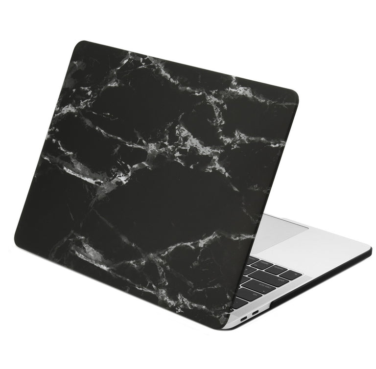 size 40 25cfe 63e3d Marble Pattern Graphic Rubberized Hard Case Cover for MacBook Pro 15-inch  A1707/A1990 with Touch Bar( Release 2016/17/18 )