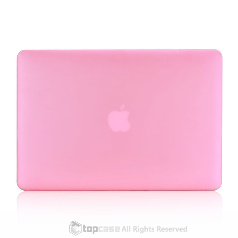 "Rubberized Pink Hard Case Cover for Macbook Air 11"" A1370/A1465"