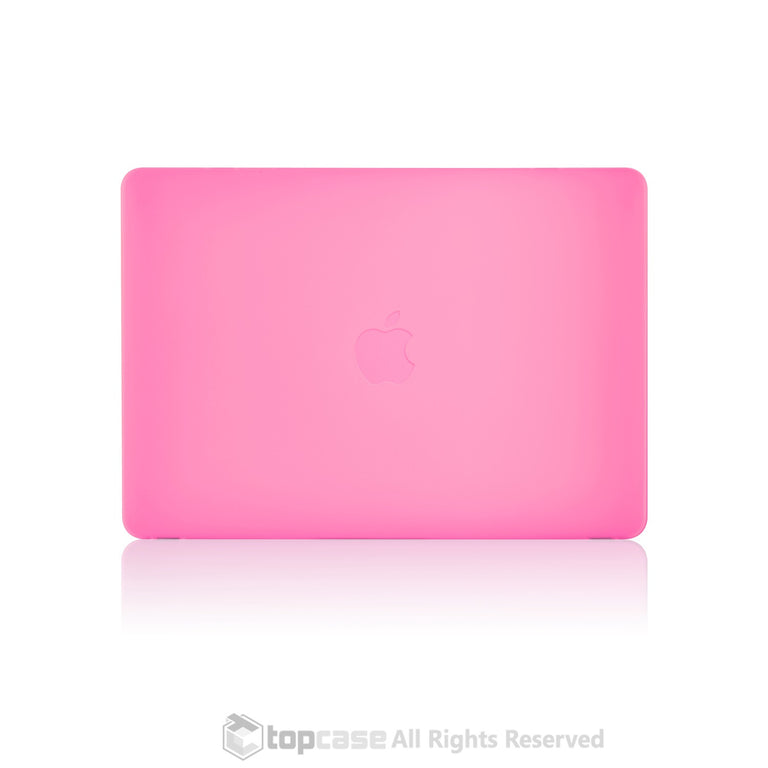 "Apple the New Macbook 12-Inch 12"" Retina Display Laptop Computer Pink Rubberized Hard Shell Case Cover for Model A1534 (Newest Version 2015) - TOP CASE"