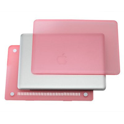 "Rubberized Pink Hard Case Cover for Apple Macbook PRO 15""  A1286"