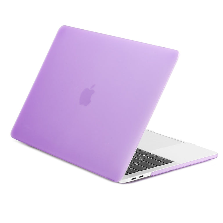 """Green and Purple Flower Matte Case for MacBook Pro 15/"""" A1990 A1707 Touch Bar"""