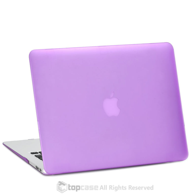 "Rubberized Purple Hard Case Cover for Macbook Air 11"" A1370/A1465"