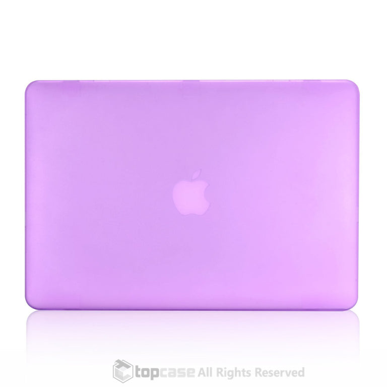 "Rubberized Purple Hard Case for Macbook Air 13"" A1369 and A1466"