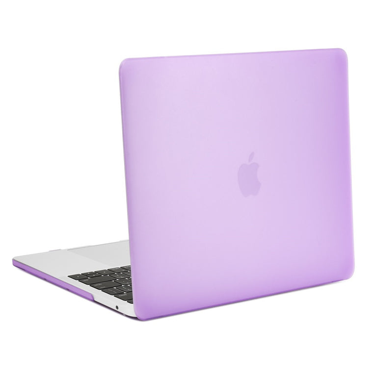 TOP CASE - Macbook Pro 13 Case 2016, Matte Hard Case Cover for MacBook Pro 13-inch A1706 / A1708 with / without Touch Bar ( Release Oct 2016 ) - Purple