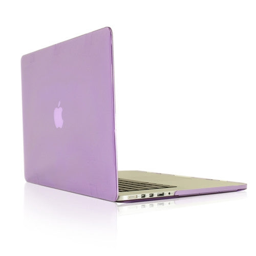 "PURPLE Crystal Hard Case Cover for NEW Macbook Pro 13"" A1425/A1502 with Retina display - TOP CASE"