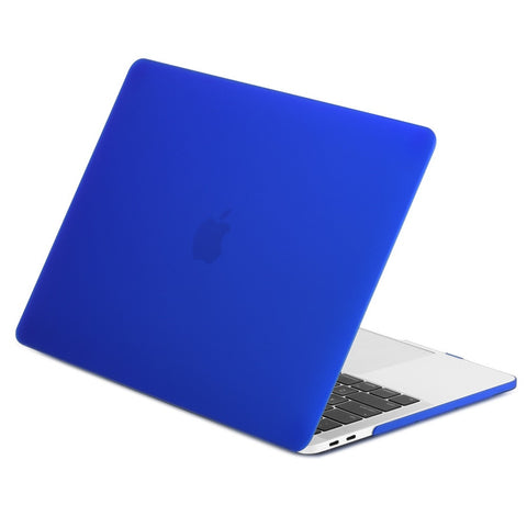 TOP CASE - Macbook Pro 13 Case 2016, Rubberized Matte Hard Case Cover for MacBook Pro 13-inch A1706 / A1708 with / without Touch Bar ( Release Oct 2016 ) - Royal Blue
