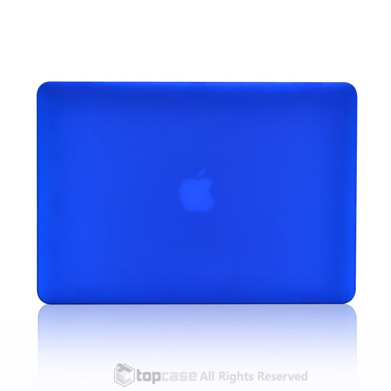 "Rubberized Blue Hard Case for Macbook Air 13"" A1369 and A1466"