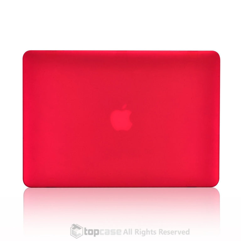 "Rubberized Red Hard Case Cover for Macbook Air 11"" A1370/A1465"