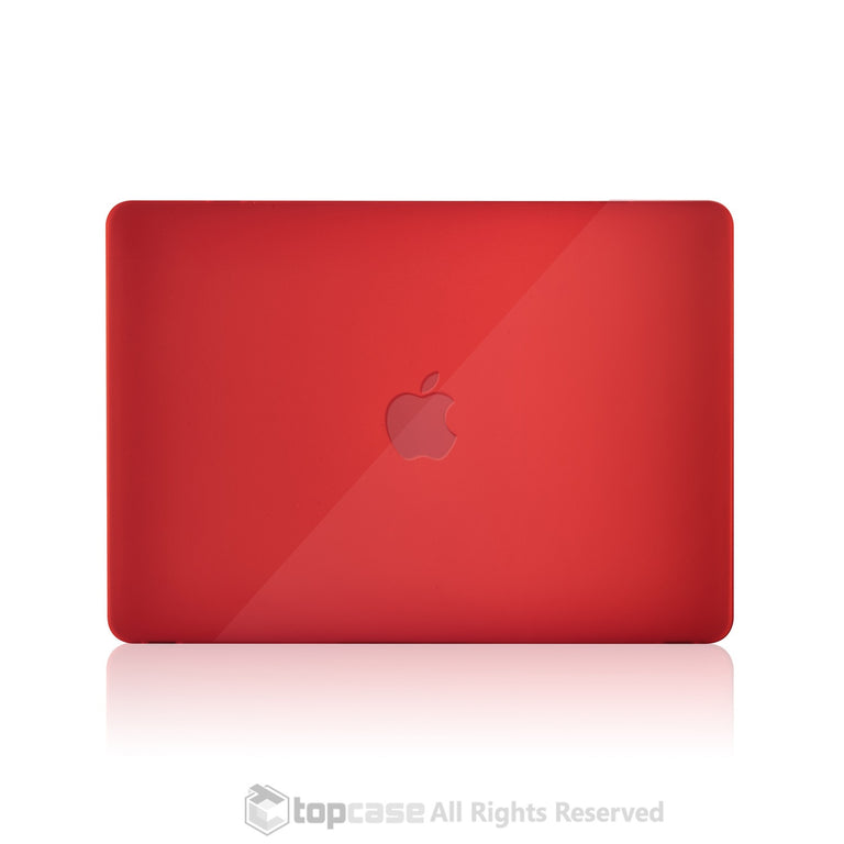 "Apple the New Macbook 12-Inch 12"" Retina Display Laptop Computer Red Crystal Hard Shell Case Cover for Model A1534 (Newest Version 2015) - TOP CASE"