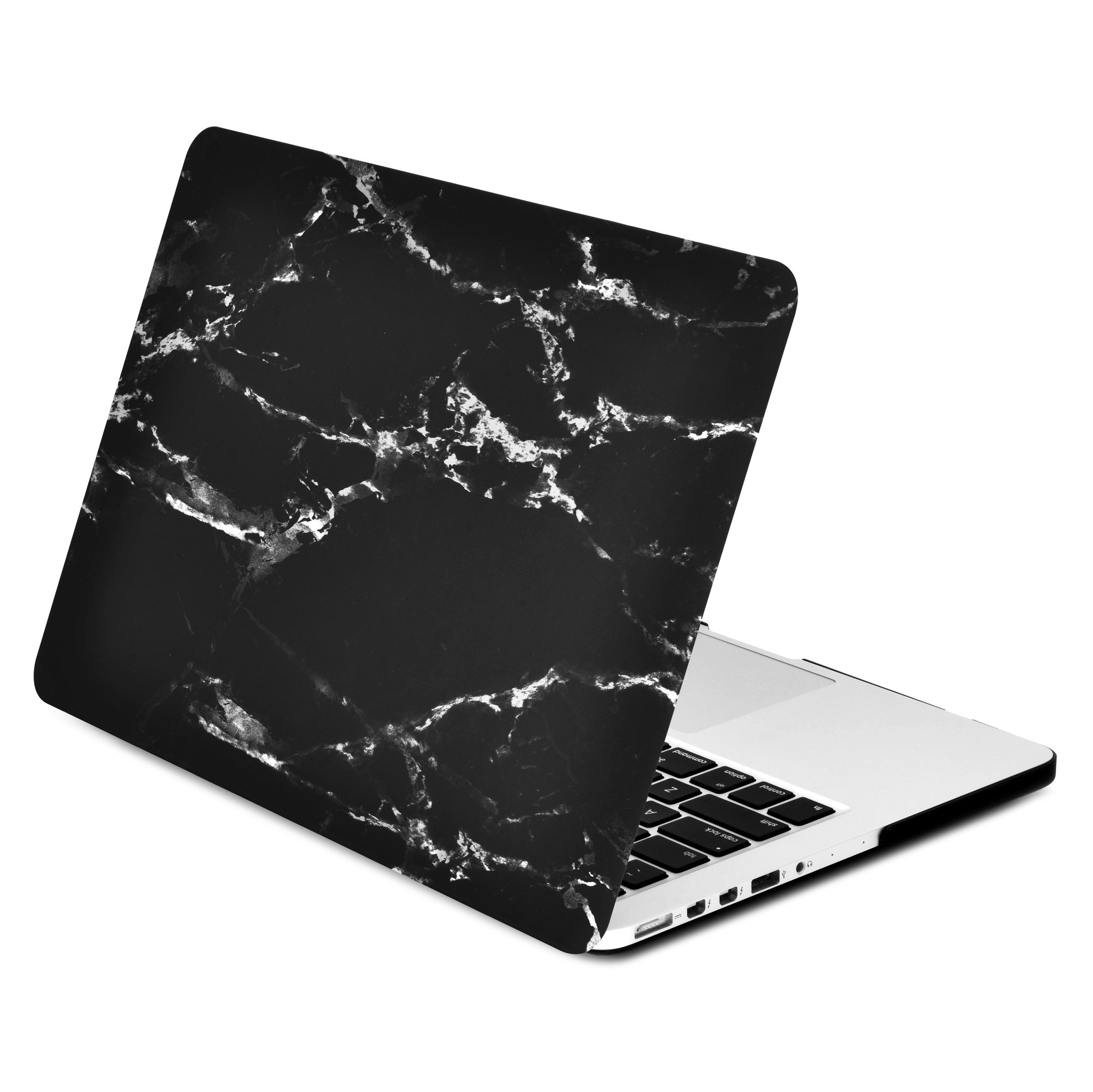Black Marble Rubberized Hard Case For Macbook Pro 13 Quot With