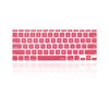 "Rose Pink Keyboard Silicone Cover Skin for Macbook Air 11"" Model: A1465"