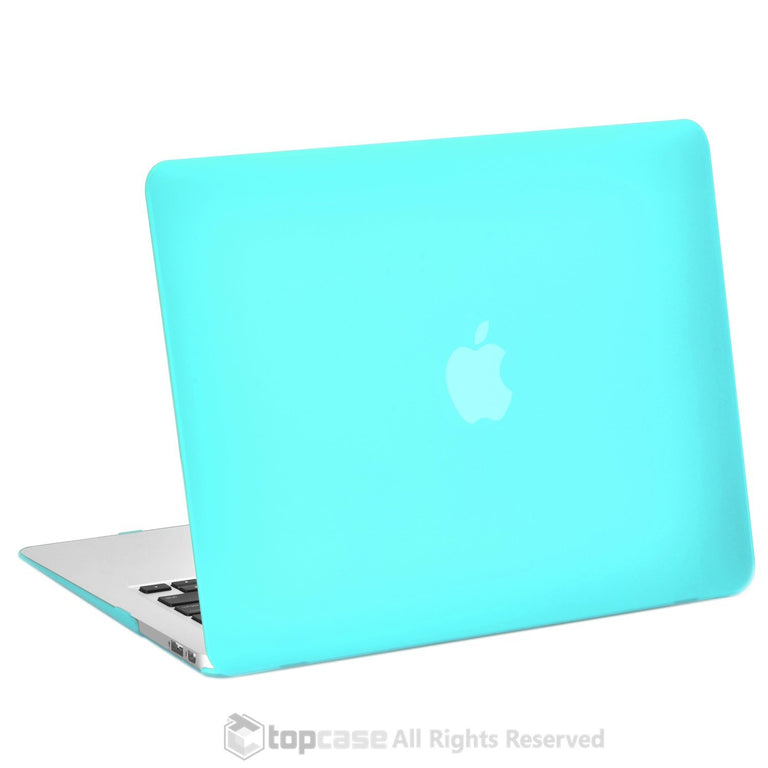 "Rubberized TURQUOISE BLUE Hard Case Cover for Macbook Air 11"" A1370/A1465"
