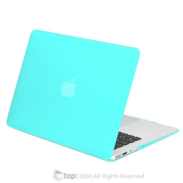 "Rubberized Tiffany Blue Hard Case for Macbook Air 13"" A1369 and A1466"