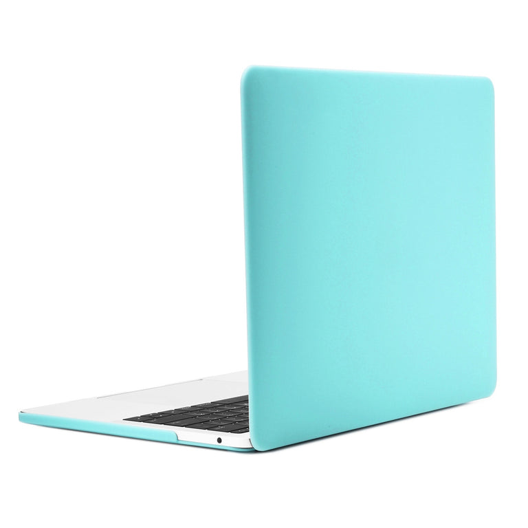 TOP CASE - Macbook Pro 13 Case 2016, Matte Hard Case Cover for MacBook Pro 13-inch A1706 / A1708 with / without Touch Bar ( Release Oct 2016 ) - Turquoise Blue