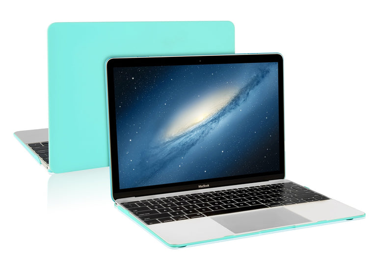 """HOT BLUE Rubberized Hard Case for New Macbook 12/""""with Retina Display Model A1534"""