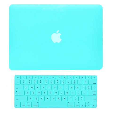 "TOP CASE 2 in 1 - Macbook Pro 15"" Matte Case + Keyboard Skin - Hot Blue"