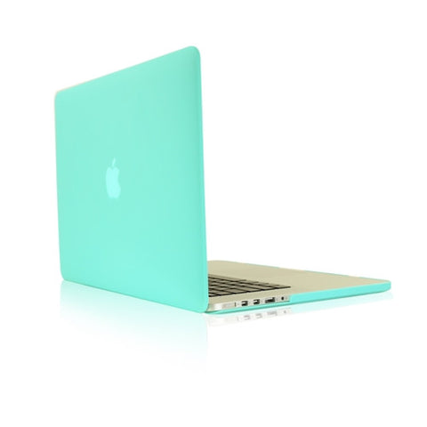 "Hot Blue Rubberized Hard Case for NEW Macbook Pro 15"" A1398 with Retina display - TOP CASE"