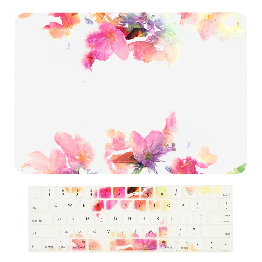 """New MacBook Air 11/"""" A1465 Floral Pattern Graphics Silicone Keyboard Cover Skin"""