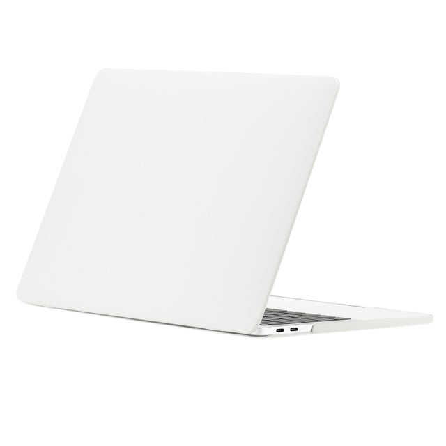 TOP CASE - Matte Hard Case Cover for MacBook Pro 13-inch A1706/ A1989 / A1708 with / without Touch Bar ( Release 2016/17/18 ) - Satin White
