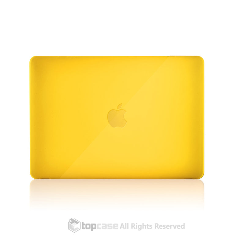 "Apple the New Macbook 12-Inch 12"" Retina Display Laptop Computer Yellow Crystal Hard Shell Case Cover for Model A1534 (Newest Version 2015) - TOP CASE"