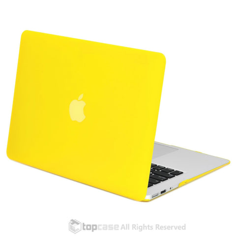 "Rubberized YellowHard Case Cover for Macbook Air 11"" A1370/A1465"