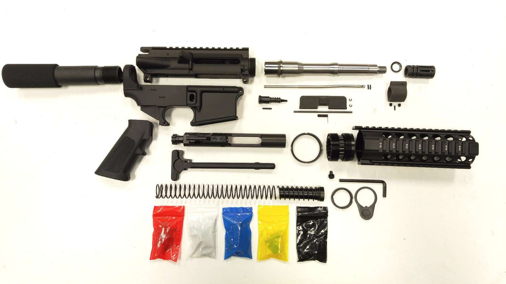 Ar 15 pistol kit assembly 75 stainless barrel 7quad rail ar 15 pistol kit assembly 75 stainless barrel solutioingenieria Gallery