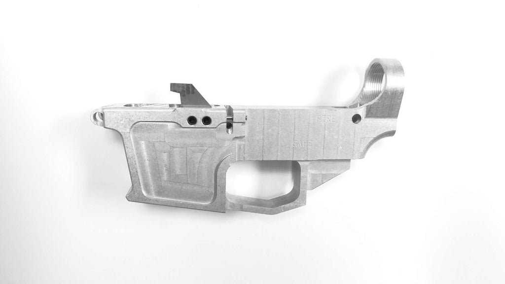 9mm 80 lower receiver raw