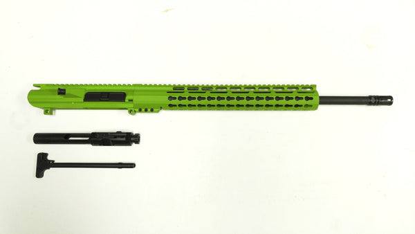 .308 Cerakote Zombie Green Upper Assembly, Zombie Green Keymod Rail / Assembled