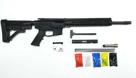 "9 MM Rifle Kit, 16"" Phosphate Barrel, 12"" Keymod Rail with 80% Lower"