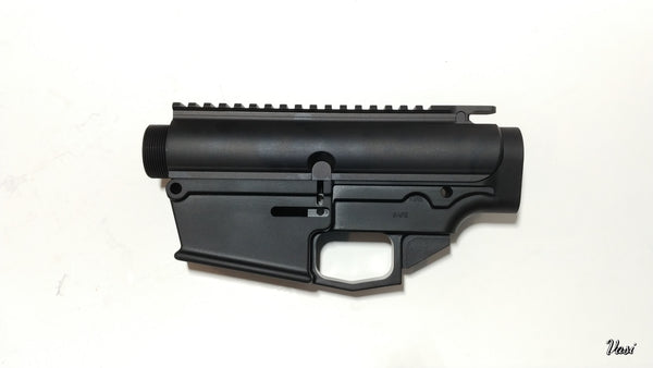 .308 Forged 80% Lower GEN2 and  Upper Receiver Set - Black