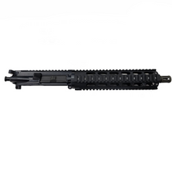 ".300 Blackout Upper Assembly 10.5"" Stainless Barrel 10"" Quad Rail,"