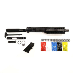 "AR-15 Pistol KIT Assembly 7.5"" Stainless Barrel, 7""Quad Rail  (NO LOWER)"