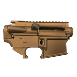 Bronze Cerakote AR-15 Upper and 80% Lower Receiver Set