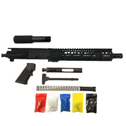 "AR-15 Pistol Kit Assembly 10.5""Stainless Barrel, 10"" Keymod Rail, (NO LOWER)"