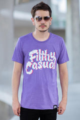 Anomaly Purple T-Shirt - Filthy Casual Co.