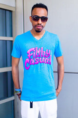 Bubblegum V-Neck - Filthy Casual Co.