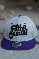 Classic Purple Snapback - Filthy Casual Co.