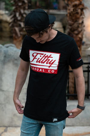 Doomcon Black T-Shirt - Filthy Casual Co.