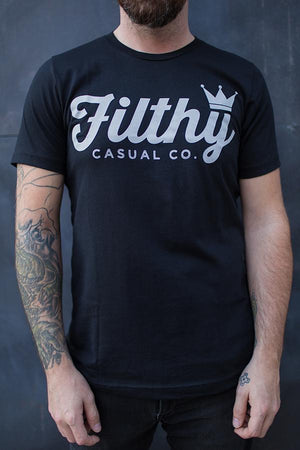 Empire Black T-Shirt - Filthy Casual Co.