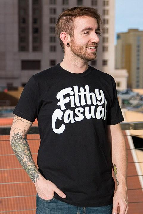 Filthy Casual Black T-Shirt - Filthy Casual Co.