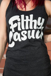Filthy Casual Black Tank - Filthy Casual Co.