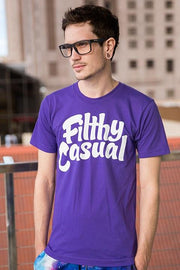 Filthy Casual Purple T-Shirt - Filthy Casual Co.