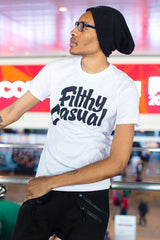 Filthy Casual White T-Shirt - Filthy Casual Co.