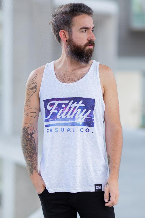 Galaxy Shred Tank - Filthy Casual Co.