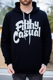 Filthy Casual Black Hoodie - Filthy Casual Co.