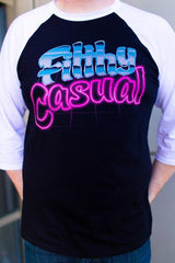Laserchrome Raglan - Filthy Casual Co.